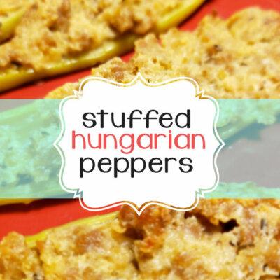 Stuffed Hungarian Hot Peppers