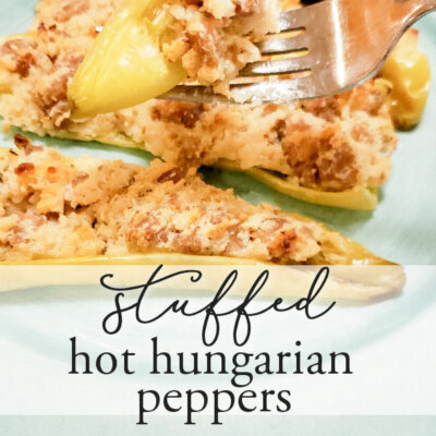 Stuffed Hungarian Hot Peppers