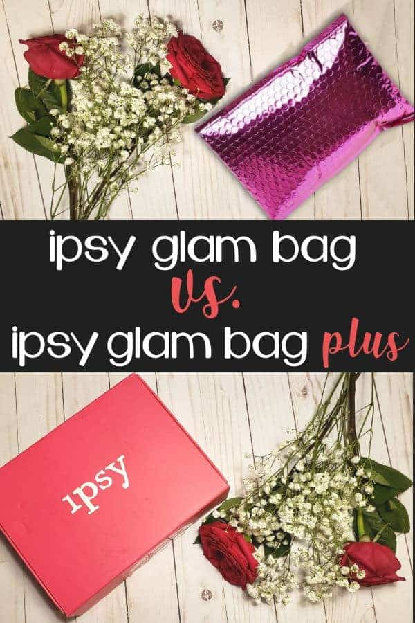Ipsy Glam Bag vs. Ipsy Glam Bag Plus