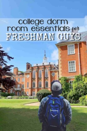 College Dorm Essentials for Freshman Guys