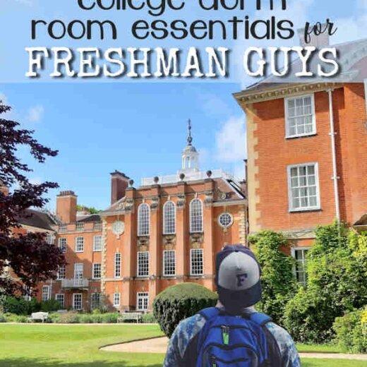 College Dorm Essentials for Freshman Guys
