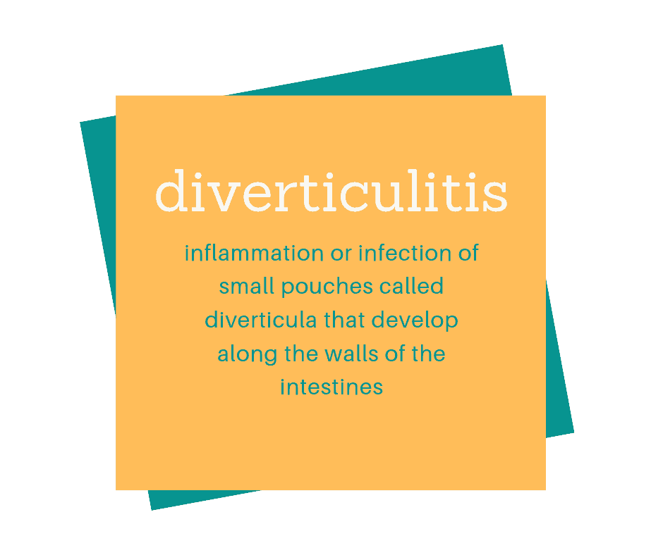 Diverticulitis definition