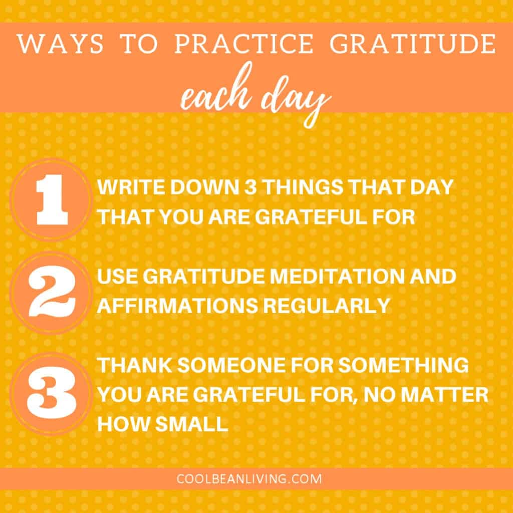3 Ways to Practice Gratitude Each Day