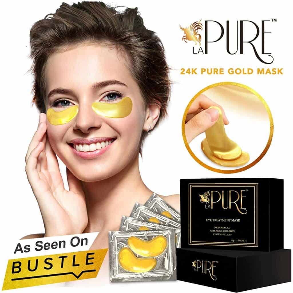 24K Gold Collagen Eye Treatment Mask